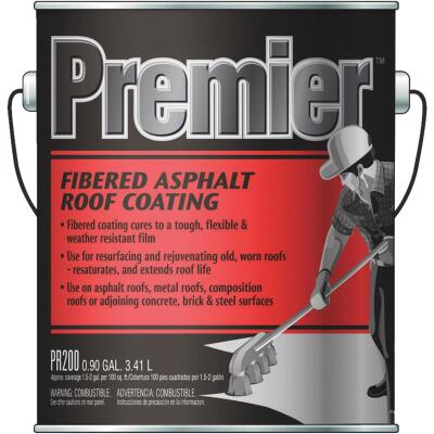 Premier 1 Gal. Fibered Asphalt Roof Coating