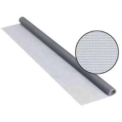 Phifer 24 In. x 84 In. Gray Fiberglass Screen Cloth Ready Rolls