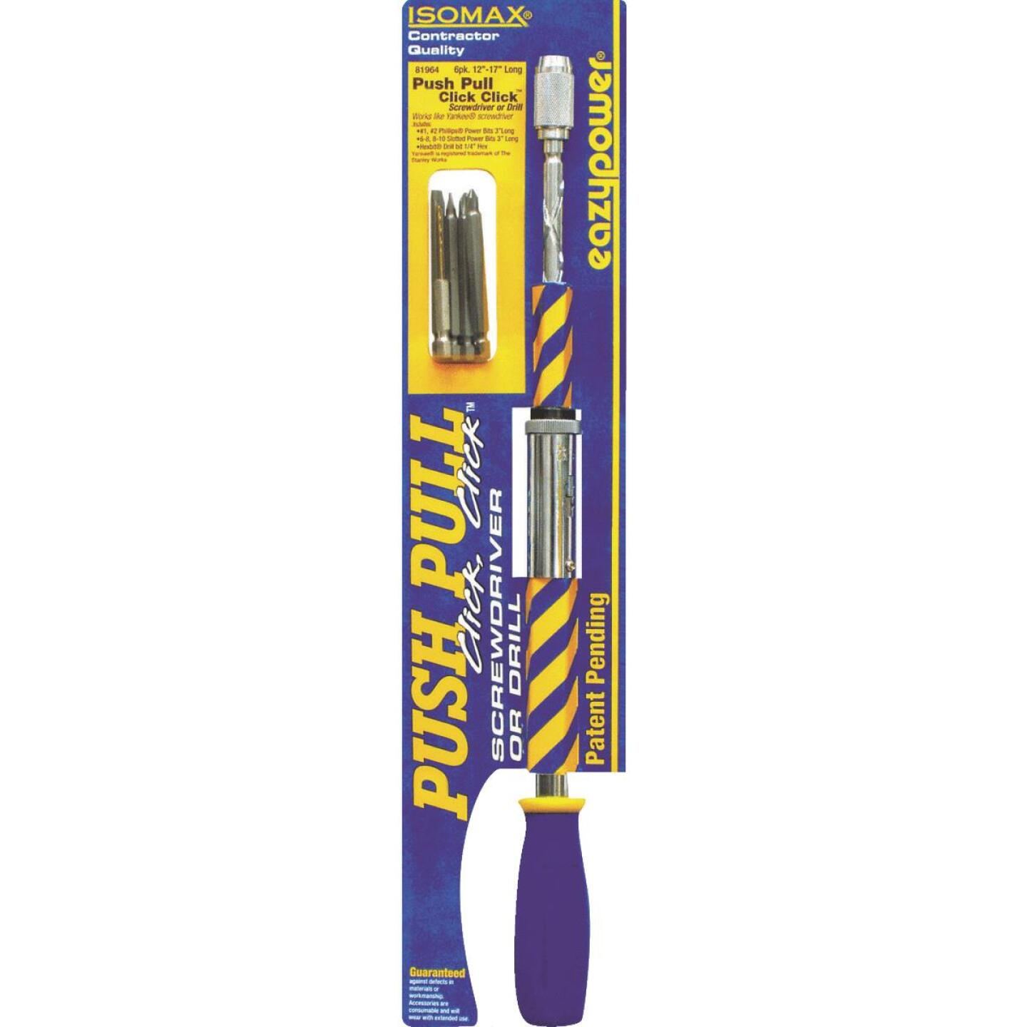 Eazypower Push Pull Click Click Screwdriver/Hand Drill Image 1