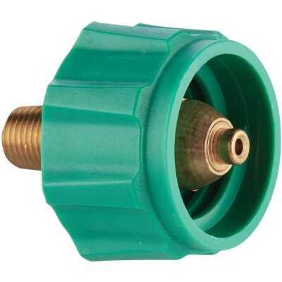 MR. HEATER Acme Nut x 1/4 In. MPT Under 200,000 BTU Quick Connect Male Plug