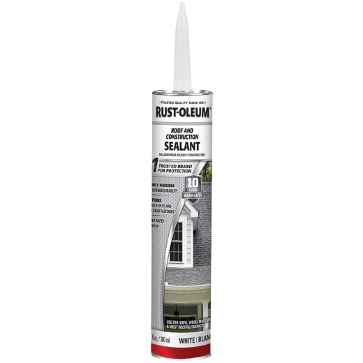 Rust-Oleum 10.1 Oz. Roof and Construction Sealant