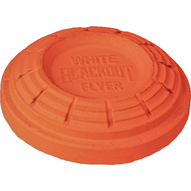 White Flyer Blackout Orange Clay Target (135-Pack) Image 1
